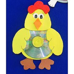 cd hen craft  |   Crafts and Worksheets for Preschool,Toddler and Kindergarten
