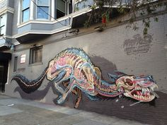 Nychos New Mural in San Francisco // USA ‹ FREEYORK