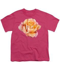 Unicorn Rose Youth T-Shirt featuring the art of Carol Cavalaris.