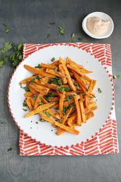 Best (Baked) Sweet Potato Fries (via abeautifulmess.com)