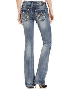 Miss Me Embellished Bootcut Jeans | macys.com