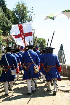 Combat de Caldes d'Estrac - Guerra de Successió 1713. Fusellers del Regiment de la Diputació del General
