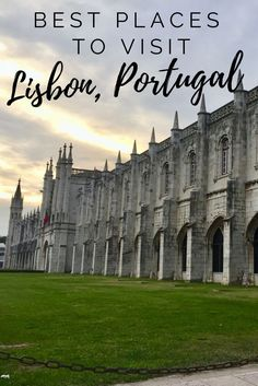 One of the most beautiful places in Europe! Click to check out the best things to see in Lisbon, Portugal