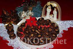 Tmavé dortíčky s karamelovým krémem