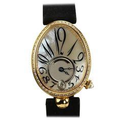 Breguet Lady's Yellow Gold and Diamond Reine de Naples Wristwatch