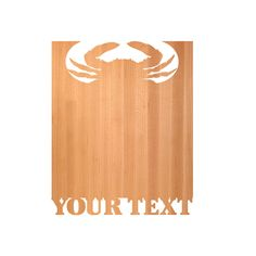 Crab Cutting Board - cutting boards - wood cutting boards