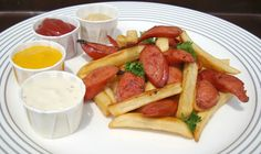 Salchipapas – Peruvian fast food