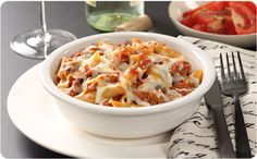 Baked Mostaccioli - Better Than Bouillon How To Cook Sausage, How To Cook Pasta, Better Than Bouillon Recipe, Baked Mostaccioli, Pasta Recipes, Cooking Recipes, Cooking Tips, Perfect Pasta Recipe, One Dish Dinners