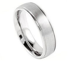 Cobalt Chrome Mens/Womens Wedding Band Ring (5mm)