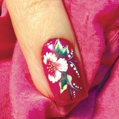 Flower Nail Art Blooms in Brooklyn - Style - NAILS Magazine