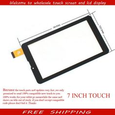 """[Visit to Buy] New touch screen for 7"""" Digma plane 7.5 3G PS7050MG tablet Touch Panel Glass Sensor Replacement Free Shipping #Advertisement"""