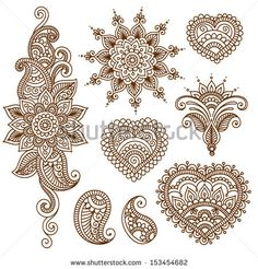 The vector file Henna Tattoo Flower Template Mehndi Style CDR File is a Coreldraw cdr ( .cdr ) file type, size is KB, under henna, mehndi vectors. Estilo Mehndi, Arte Mehndi, Mehendi, Henna Tatoos, Henna Tattoo Designs, Henna Art, Mehndi Designs, Indian Henna Designs, Mehndi Tattoo