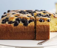 Olive oil cake with blueberries recipe | Australian Women's Weekly Food Moist Carrot Cakes, Moist Cakes, Olive Oil Jam, Mandarin And Almond Cake, Baking Without Butter, Cake Recipes, Dessert Recipes, Blueberry Recipes, Honey Cake