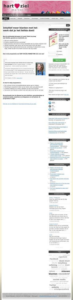 The website 'www.hartenzielmarketing.nl' courtesy of @Pinstamatic (http://pinstamatic.com)