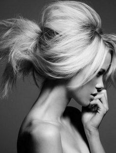 @Lindsay Dillon Walker Can i do my hair like this?! If i find a dress that looks better with an updo, i want it to be teased like this then the vail on the side <3