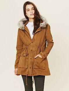 Fur Hooded Parka