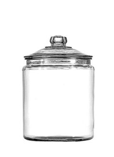 #Anchor Hocking Half-Gallon Heritage Hill Glass Jar with CoverThis Anchor Hocking Half-Gallon Glass Jar with Cover is perfect for accenting and organizing. The u...