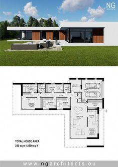 33 ideas hotel landscape design dreams for 2019 Home Design Floor Plans, House Floor Plans, Modern House Plans, Modern House Design, Staircase Contemporary, Contemporary Bedroom, Contemporary Cottage, Contemporary Furniture, Contemporary Wallpaper