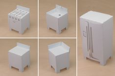 Toideloi; print and fold paper furniture for your Stackhouse