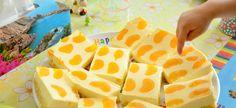 Rezept: Quark-Mandarinen-Blechkuchen