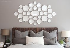 Driven By Décor: Hanging Plates to Create a Decorative Plate Wall
