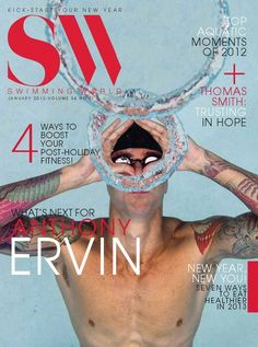 Swimming World Magazine, January 2013   Pictured: Anthony Ervin
