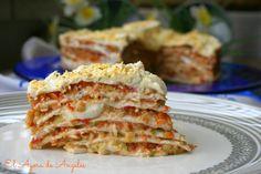 tarta salada de tortillas de fajitas El Ágora de Ángeles
