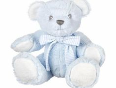 Suki Baby Hug-a-Boo Super Soft Plush Bear with Rattle in Tummy and Striped Cotton Bow (Small, Blue) Supersoft plush Teddy Bear with rattle in tummy,Comes wearing striped cotton bow Approx 7 inches / 17.8 cm Long Brand new with tags Product and safety in (Barcode EAN = 5053154100824) http://www.comparestoreprices.co.uk/baby-toys/suki-baby-hug-a-boo-super-soft-plush-bear-with-rattle-in-tummy-and-striped-cotton-bow-small-blue-.asp