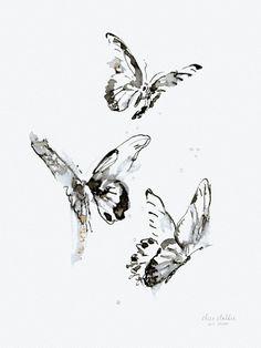 Sommerdans, kunstdruk Elise Stalder, www. Number Art, Art Prints, Artist, Butterflies, Shirt, Animales, Art Impressions, Dress Shirt, Artists