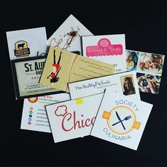 What's on your plate this week? Have you updated and ordered your business cards this year? Check out our Pinterest account for inspiration (foodwineconf) #FWCon #SundaySupper #foodie #businesscards #networking #socialmedia #workhardplayhard #foodblogger #bloggerlife #entrepreneur