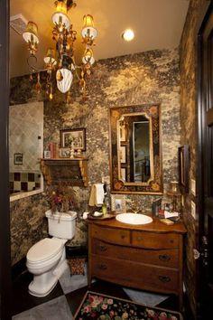 Love this fun bathroom