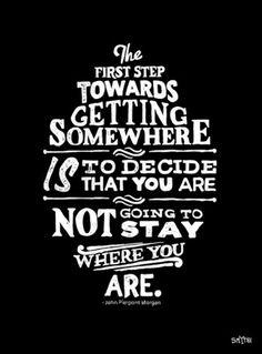 Quotes & Places. Il primo passo