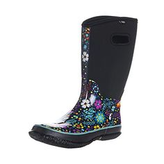 Fuyang Womens Snow Rain Boots Winnter Protection up to 22 Fahrenheit Size 10 -- You can find more details by visiting the image link.