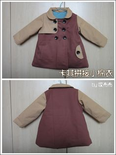Jacket  (Picture tutorial & Pattern, Chinese)