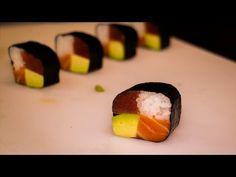 Maki sushi recipe - Japanese food recipe - Four seasons sushi roll