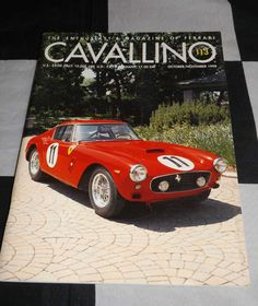 CAVALLINO FERRARI MAGAZINE OCTOBER NOVEMBER 1999 # 113 250 SWB SEBRING 250 TR