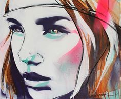 lulu guinnes to launch pop up art gallery selling prints by banksy Illustrations, Art And Illustration, Atelier D Art, Graffiti, Portraits, Portrait Paintings, Portrait Art, Printmaking, Buy Art