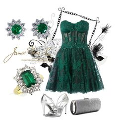 """""""SHOP - James Ness & Son"""" by ladymargaret ❤ liked on Polyvore featuring Wedgwood, Zuhair Murad, Stuart Weitzman Bridal and Jimmy Choo"""