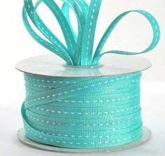 Color Azul Turquesa - Turquoise!!!  ribbon