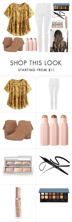"""aaaah"" by ac-4am on Polyvore featuring Topshop, TOMS, Hourglass Cosmetics and Anastasia Beverly Hills"