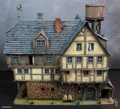 The Ol'Rowdy's Inn - back view by tuskarsart on deviantART