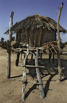 Rural village . Zimbabwe