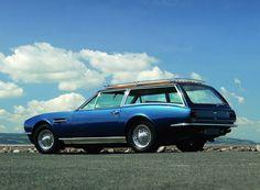 Hahaha what's this???   #designersjoke.  1971 Aston Martin DBS Sooting Brake