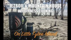 Breakfast on Little Tybee - Jetboil & Mountain House Eggs and Bacon