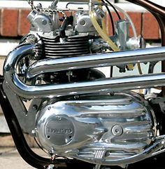 triumph 500   Bespoke 1966 Triumph 500