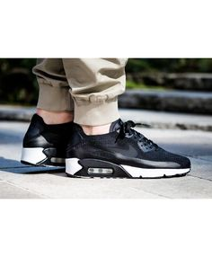 competitive price 69333 95c97 Nike Air Max 90 Ultra 2.0 Flyknit Black White Mens Sales Sale UK Air Max 90