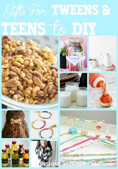 DIY Gifts teens can
