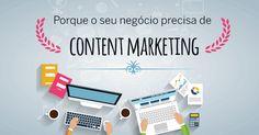 Content marketing envolve criar conteúdos que apresentam valor às pessoas, para estas ganharem confiança em si e na sua marca.