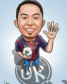 Caricature From Photo, Soccer Sports, Caricatures, Smudging, Digital Art, Jokes, Collections, Lol, In This Moment