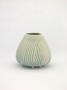 SHIO KUSAKA (lifted 1), 2010  Porcelain  4 3/4 x 5 3/8 x 5 3/8 inches  Courtesy Anton Kern Gallery, New York  (AK# 7818)